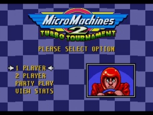 Микро Машинки 2 - Турбо Турнир / Micro Machines 2 - Turbo Tournament