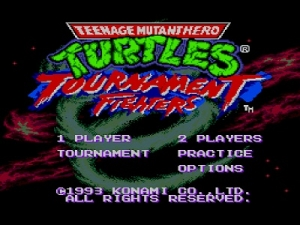 Черепашки Ниндзя - Турнир / Teenage Mutant Ninja Turtles - Tournament Fighters