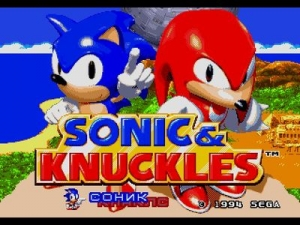 Соник и Наклз / Sonic and Knuckles