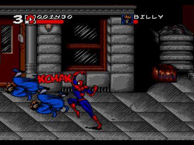 Скачать игру на сега человек паук и веном
