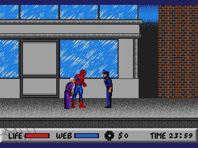 Скачать игру sega человек паук