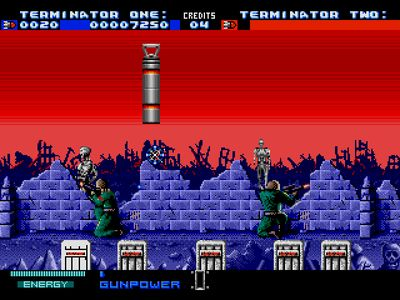 Игры терминатор 2