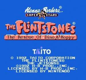Флинтстоуны - Спасение Дино да Хоппи / The Flintstones - The Rescue of Dino and Hoppy