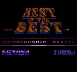 Лучшие с Лучших - Чемпионат в соответствии с Карате / Best of the Best - Championship Karate