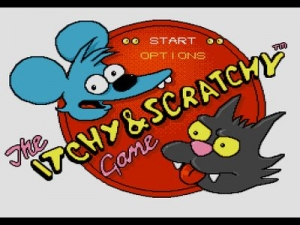 Щекотка и Царапка / Itchy and Scratchy Game